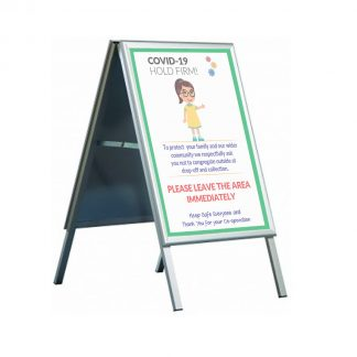 Outdoor Pavement Signs